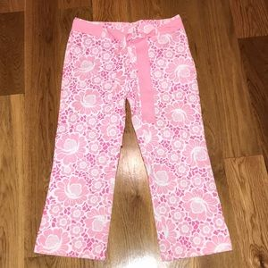 Lilly Pulitzer Lilly Capri Pink Floral